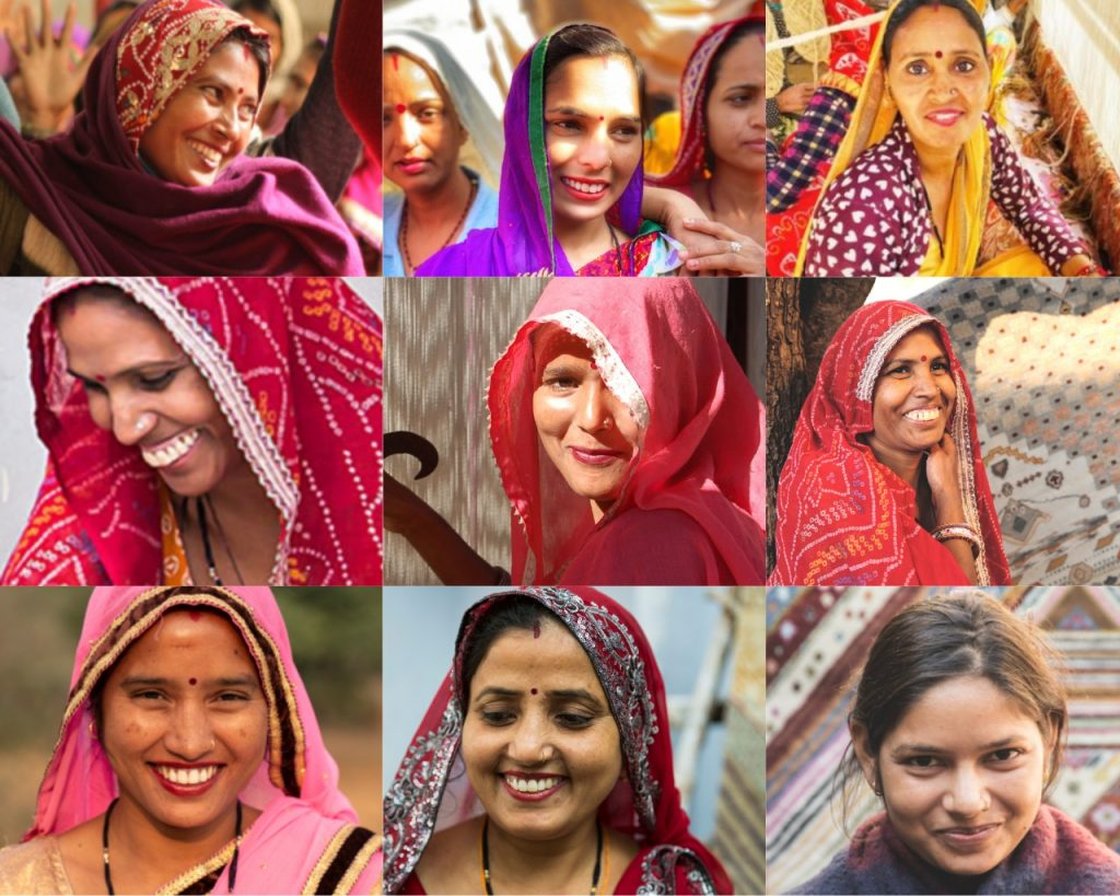 Happy faces of our artisans