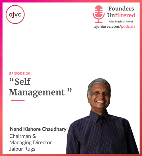 Self management with NK Chaudhary