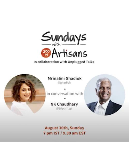 Sunday's with 200 Million Artisans